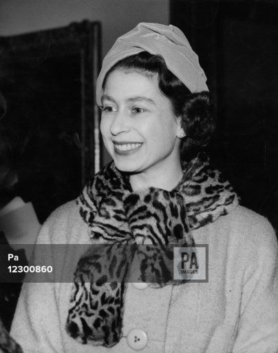 Queen Elizabeth II during her visit to the art collections at the Cortauld Institute of Art, London University.
