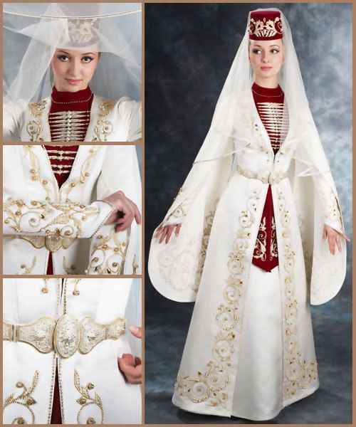 Traditional dress . Kavkaz. Caucasus
