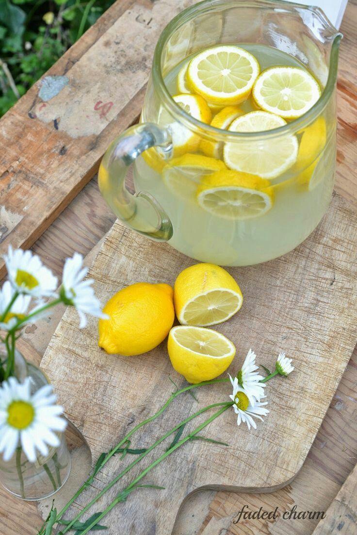 Похудение ромашка с лимоном