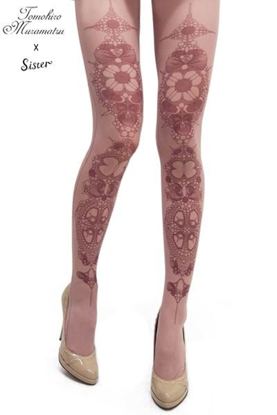 FAKE TOKYO.comLace Tights, Style, Hose Stockings Socks Etc, Sisters Rose 薔薇, Fake Tokyo Com, Pretty
