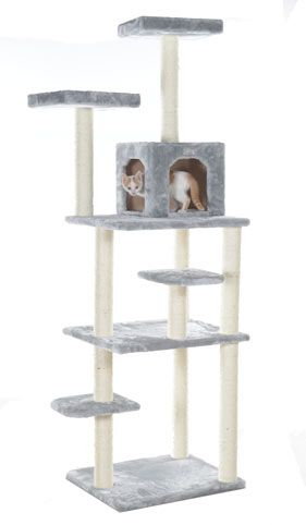 Cheap Cat Play Tower with Sisal Scratching Posts