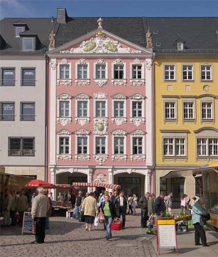 Siegertsches Haus mit Chemnitzer Barock - chemnitztour.de
