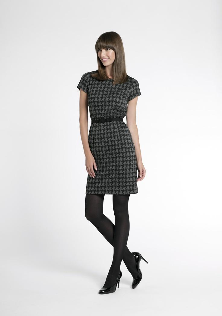 Easy checkered dress