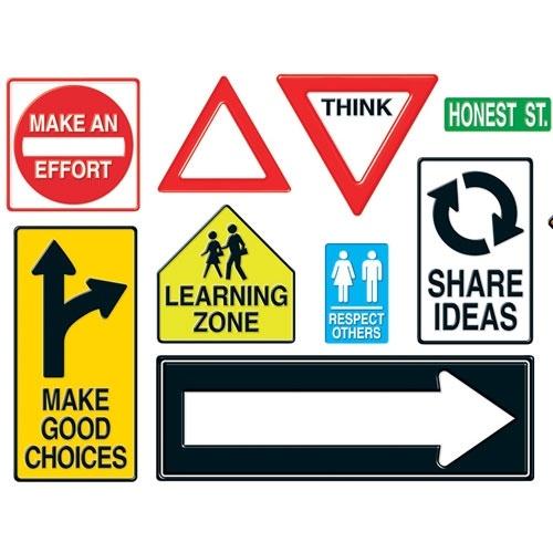 Road Sign Classroom Ideas
