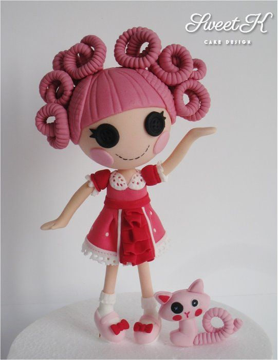 Sew adorable and well done! My Lalaloopsy cake topper :)