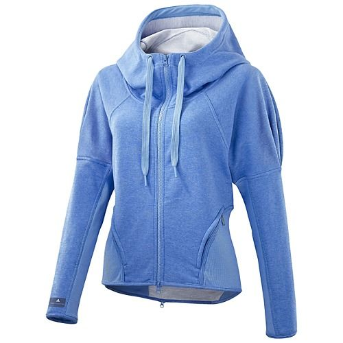WOMEN'S ADIDAS BY STELLA MCCARTNEY RUN ZIP HOODIE $120.00