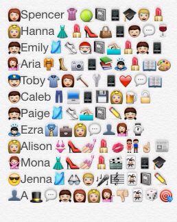 Pretty Little Liars Emoji
