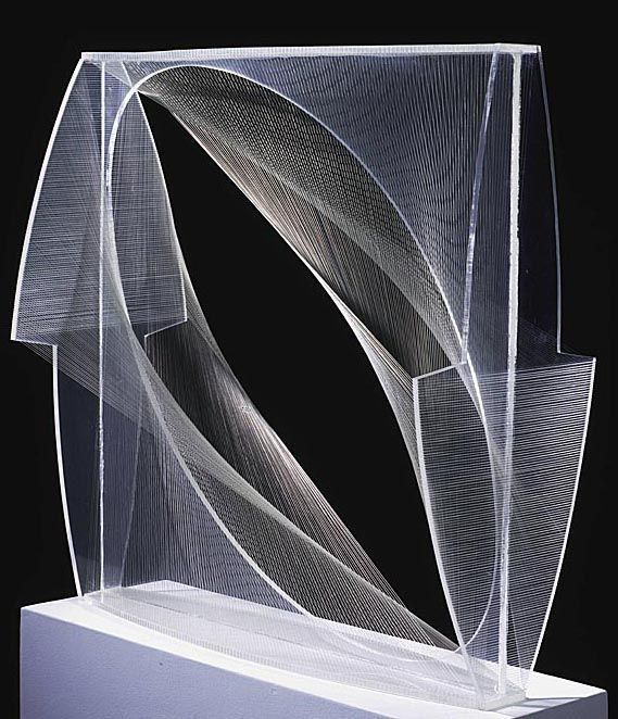 Linear Construction in Space No. 1. by Naum Gabo
