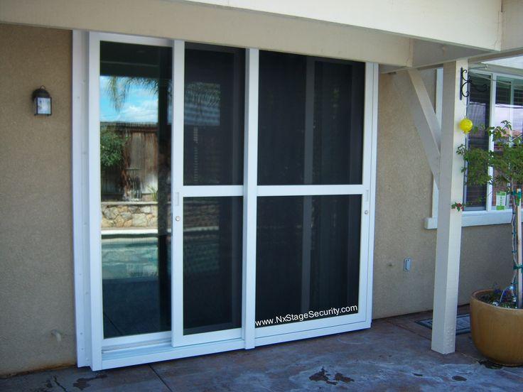 Security Patio Door Screens