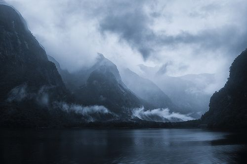 A moody day at Doubtful Sound