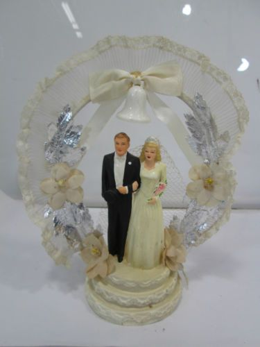 vintage wedding cake toppers ebay vintage coast novelty 1944 wedding cake topper ebay 21616