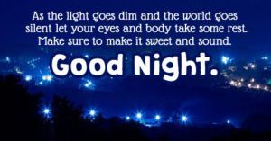 Good night messages and images : Good night wishes and pictures