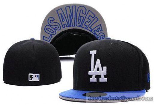 d566e1addfc Cheap Wholesale Fitted Hats MLB Los Angeles Dodgers Black Blue for slae at  US 8.90  snapbackhats  snapbacks  hiphop  popular  hiphocap  sportscaps ...