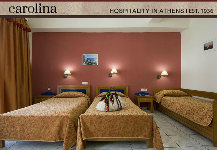 Standard Triple with extra bed at Carolina Hotel Athens