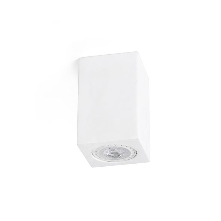 Plafón de Techo cuadrado yeso para LED