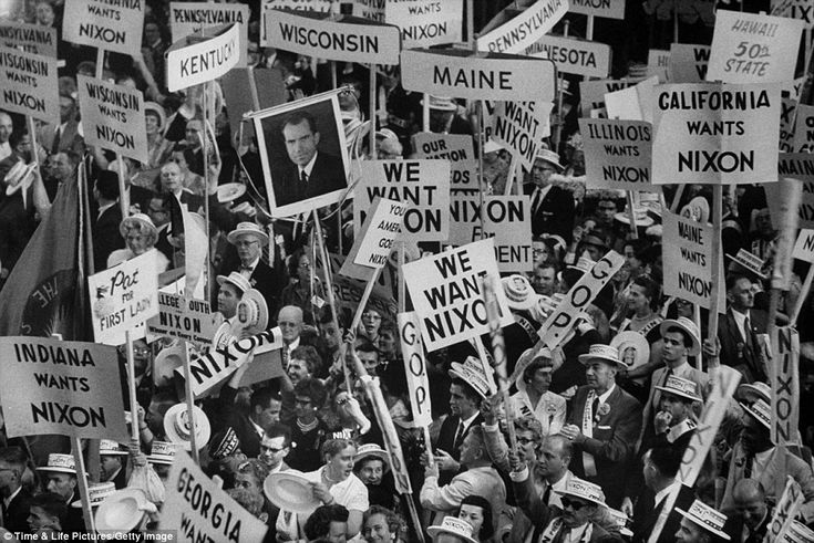 1968 Republican National Convention | Republican National Convention: Life magazine photos document drama ...