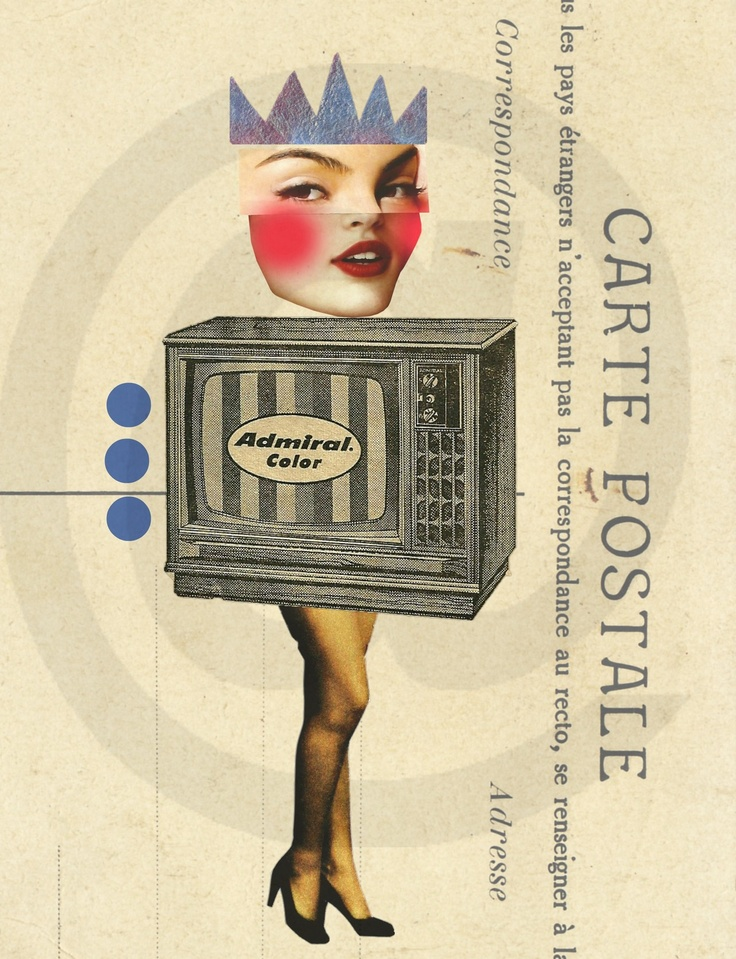 #TV #Girl #8x10 #digital #download #printable #collage #wall #art #thecraftstar $5.00