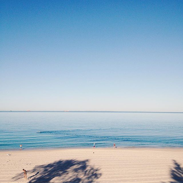 Cottesloe, this morning.
