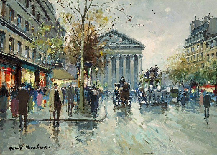 Rue Royale, La Madeleine