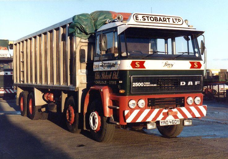 1982 DAF 2500 Bulk, 8 Wheel Tipper  (Photograph kindly provided by G Milne)