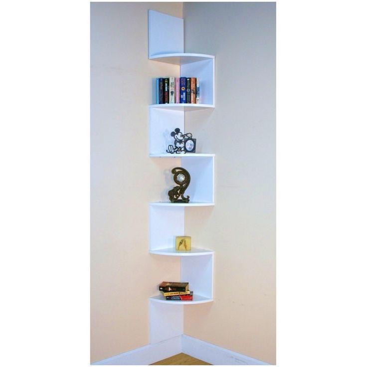 Resultado de imagen de corner shelves decoration