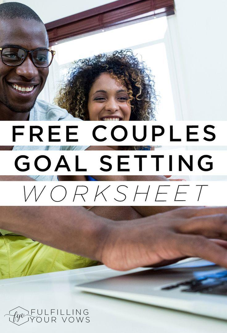 Free Couples Goal Setting Worksheet