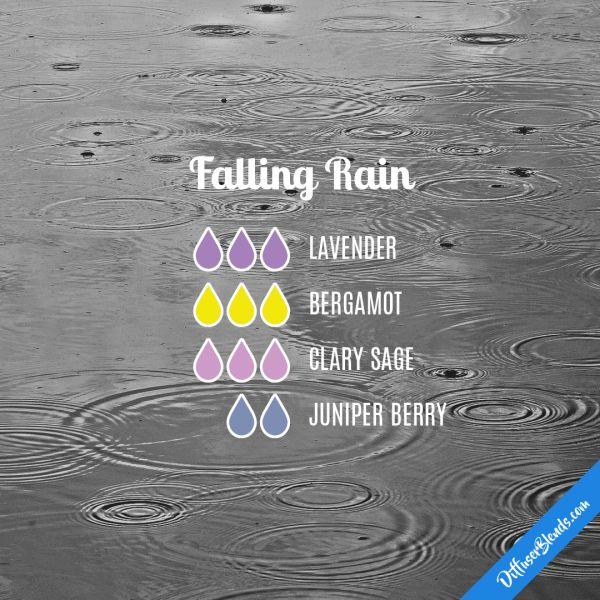 Falling Rain - Essential Oil Diffuser Blend