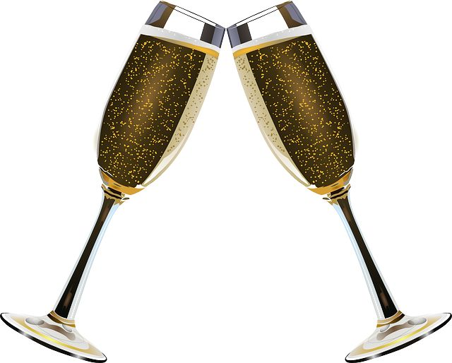Champagne, Clink Glasses, Alcohol, Bubble, Bubbles