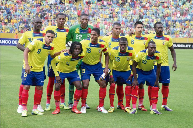Selección de Ecuador Copa America 2015