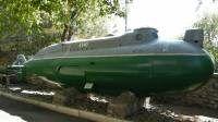 mini-submarinos del Proyecto 908 Triton-2 - el enano proyecto de submarinos de la Armada Soviética. Flota consistía en brazos 1975-1990. Diseñado para patrullar las aguas del puerto y las incursiones, la entrega y la evacuación de las literas mineras buzos exploradores, naves enemigas, las encuestas de los fondos marinos. Total 13 submarinos este proyecto se construyó: B-485, B-489, B-494, B-499, B-501, B-504, B-505, B-509, B-511, B-528, B -541, B-542, B-554