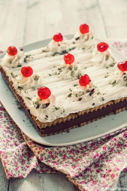 Sugar Buzz: Ένα ρετρό γλυκό ψυγείου με μπισκότα, σοκολατένια κ...