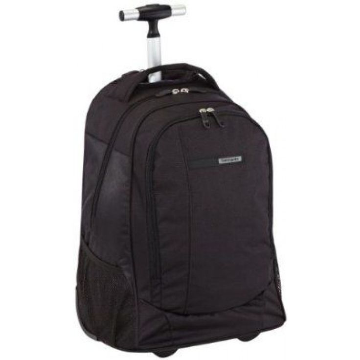 Samsonite Wander-FULL 15.6inch Laptop Backpack with Wheels Black