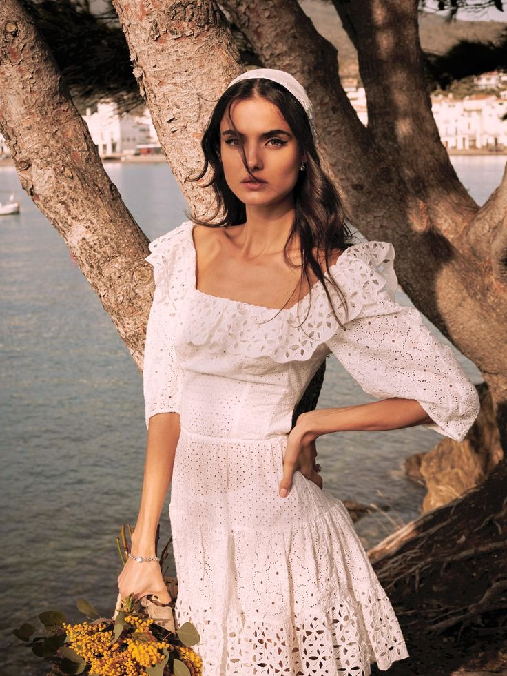 Blanca Padilla for Vogue Spain Novias S/S 2017