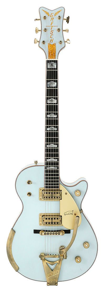 Gretsch Masterbuilt 59 Sonic Blue Relic Penguin Custom Shop