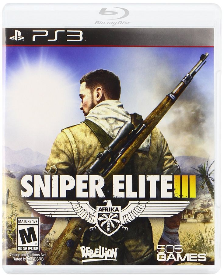 Sniper Elite III PS3 Physical Game Disc US