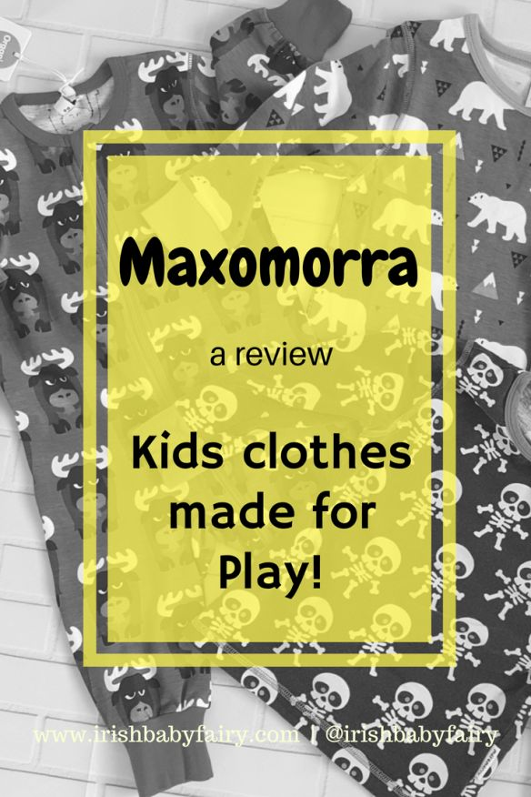 Maxomorra is a Swedish baby and childrens clothes brand. They use organic cotton to make beautiful bold and colourful prints perfect for children. #kidsclothes #maxomorra #organic #ethicalclothes #playclothes