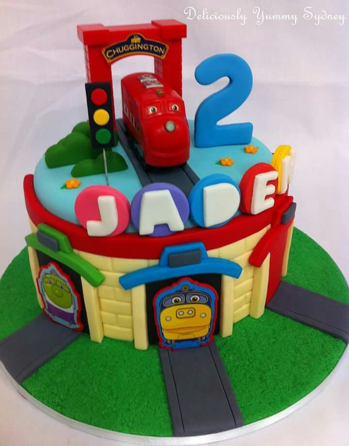 Pinterestteki 25den fazla en iyi Chuggington cake fikri 3