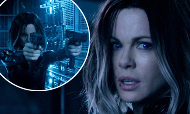 Kate Beckinsale sizzles in leather catsuit in new Underworld trailer