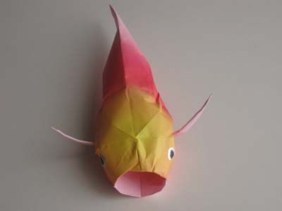 25 best ideas about 3d origami tutorial on pinterest for Origami koi tutorial