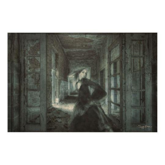 Prisoner of Time Fine Art Print on Wood