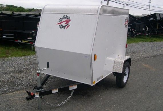 4 X 6 Enclosed Cargo Trailer L Small Luggage Trailer