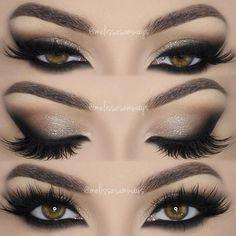 Neutral  Dramatic Smokey Eyes Makeup Tutorial!