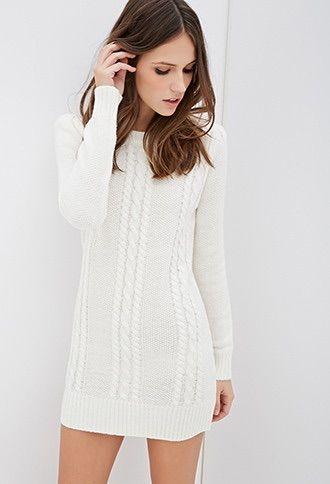 10 Best ideas about Knit Sweater Dress on Pinterest  Sweater ...