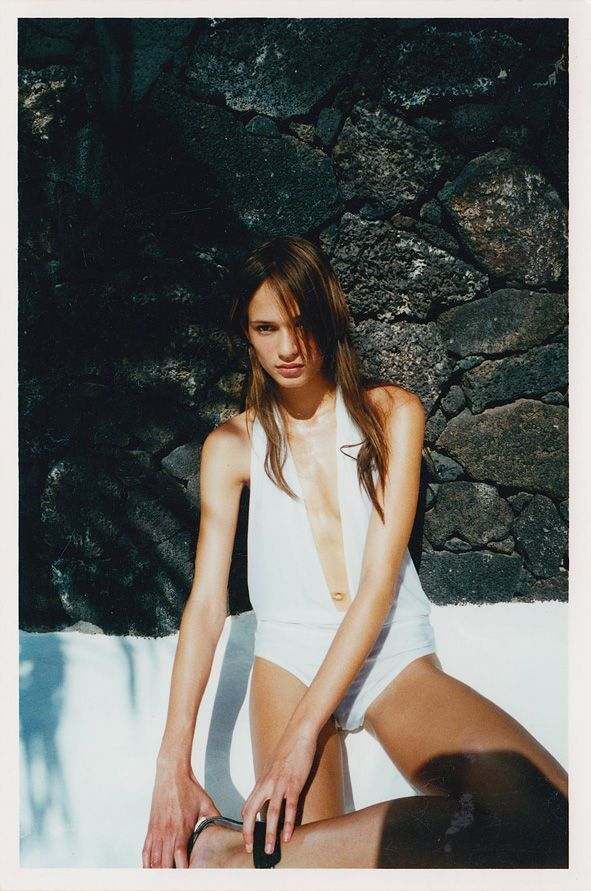 Style - Minimal + Classic: Unpublished, Outtakes and Polaroids:Lindsay Frimodt for Dazed