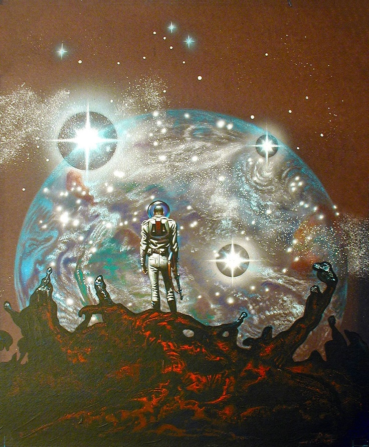 Sci Fi Art At Its Finest By Japanese: 114 Best Frank Kelly Freas Images On Pinterest