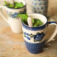 Gekleurde kopjes   koffie drinken in stijl:) #handmade #polish