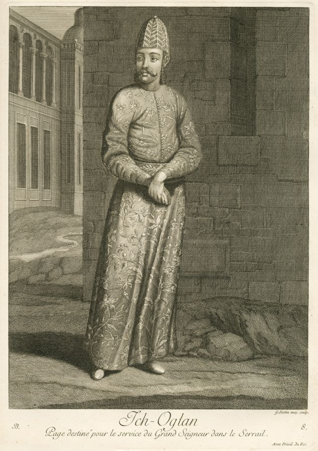 İçoğlan, servant to the Sultan inside the palace.