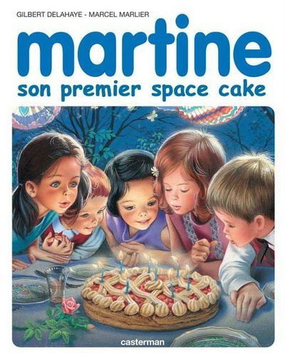 Martine et son 1er space cake