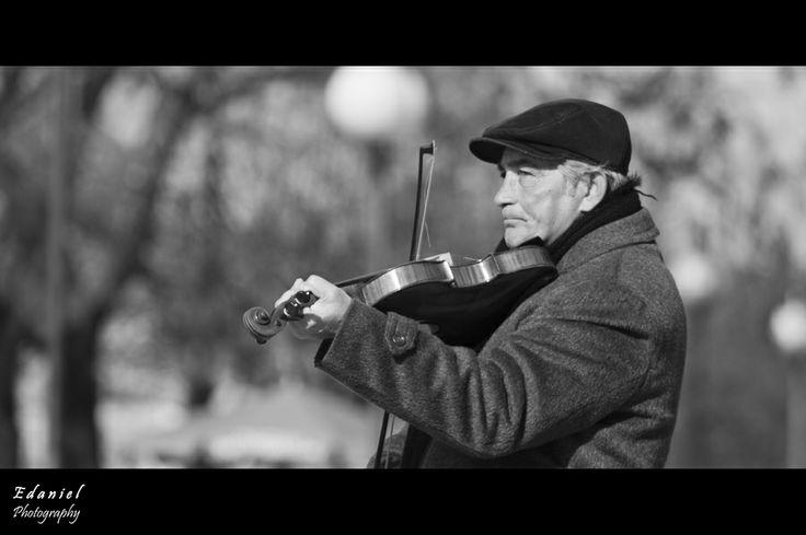 Street musician by Dániel Elszászer on 500px