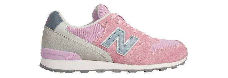 New Balance 996 Rosa/Cinza/Branco 34